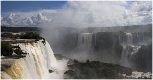 Iguasu Falls Panorama