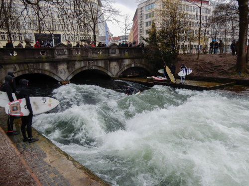 Surfing In Munich 1