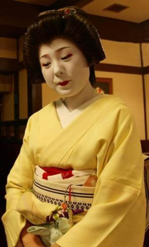 Apprentice Geisha Girl Japan